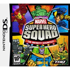 Foto Jogo Marvel Super Hero Squad The Infinity Gauntlet THQ Nintendo DS