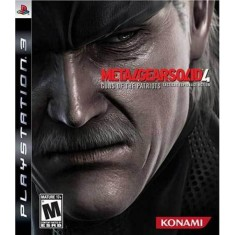 Foto Jogo Metal Gear Solid 4: Guns of the Patriots PlayStation 3 Konami