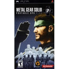 Foto Jogo Metal Gear Solid Portable Ops Plus Konami PlayStation Portátil