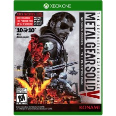 Foto Jogo Metal Gear Solid V The Definitive Experience Xbox One Konami