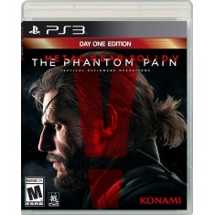 Foto Jogo Metal Gear Solid V: The Phantom Pain PlayStation 3 Konami