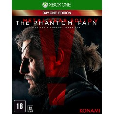 Foto Jogo Metal Gear Solid V The Phantom Pain Xbox One Konami