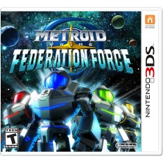 Foto Jogo Metroid Prime: Federation Force Nintendo 3DS