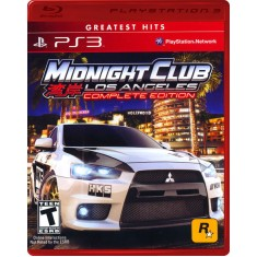 Foto Jogo Midnight Club Los Angeles PlayStation 3 Rockstar