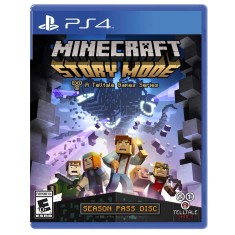 Foto Jogo Minecraft Story Mode PS4 Telltale