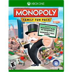Foto Jogo Monopoly Family Fun Pack Xbox One Ubisoft