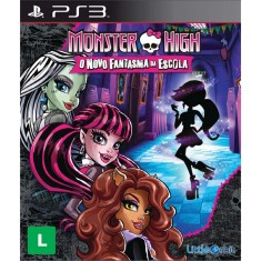 Foto Jogo Monster High: O Novo Fantasma da Escola PlayStation 3 Little Orbit