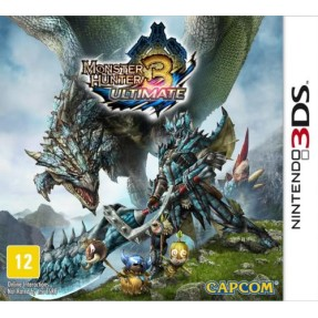Foto Jogo Monster Hunter 3: Ultimate Capcom Nintendo 3DS