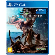 Foto Jogo Monster Hunter World PS4 Capcom