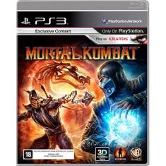 Foto Jogo Mortal Kombat 9 PlayStation 3 Warner Bros