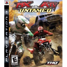 Foto Jogo MX vs ATV: Untamed PlayStation 3 THQ