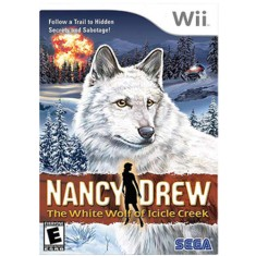 Foto Jogo Nancy Drew The White Wolf of Icicle Creek Wii Sega