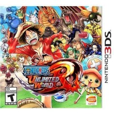 Foto Jogo One Piece Unlimited World Red Bandai Namco Nintendo 3DS
