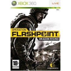 Foto Jogo Operation Flashpoint Dragon Rising Xbox 360 Codemasters