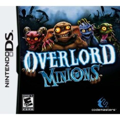 Foto Jogo Overlord Minions Codemasters Nintendo DS