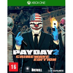 Foto Jogo Payday 2 Crimewave Edition Xbox One 505 Games