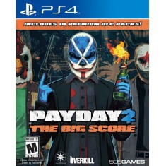 Foto Jogo Payday 2 The Big Score PS4 505 Games