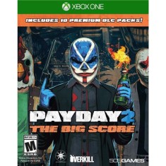 Foto Jogo Payday 2 The Big Score Xbox One 505 Games