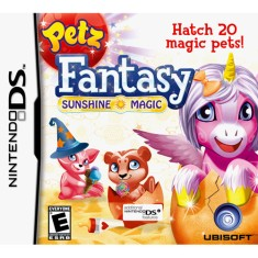 Foto Jogo Petz Fantasy Sunshine Magic Ubisoft Nintendo DS