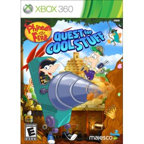 Foto Jogo Phineas and Ferb: Quest for Cool Stuff Xbox 360 Majesco Entertainment