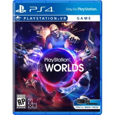 Foto Jogo PlayStation VR Worlds PS4 Sony