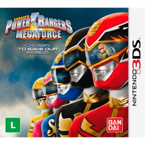 Foto Jogo Power Rangers: Mega Force Bandai Namco Nintendo 3DS