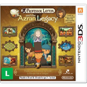 Foto Jogo Professor Layton and the Azran Legacy Nintendo 3DS
