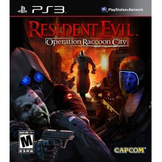 Foto Jogo Resident Evil Operation Raccoon City PlayStation 3 Capcom