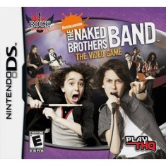 Foto Jogo Rock Univesity Presents: Naked Brothers Band THQ Nintendo DS
