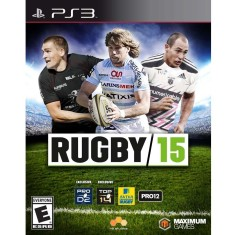 Foto Jogo Rugby 15 PlayStation 3 Maximum Family Games