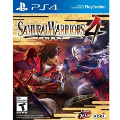 Foto Jogo Samurai Warriors 4 PS4 Koei