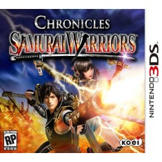 Foto Jogo Samurai Warriors Chronicles Koei Nintendo 3DS