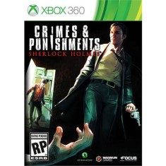 Foto Jogo Sherlock Holmes: Crimes and Punishment Xbox 360 Focus