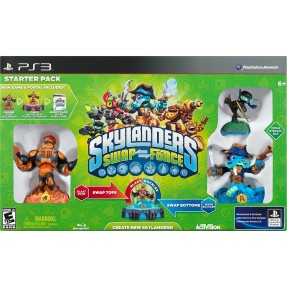 Foto Jogo Skylanders: Swap Force Starter Pack PlayStation 3 Activision
