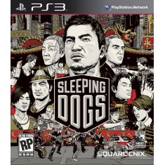 Foto Jogo Sleeping Dogs PlayStation 3 Square Enix
