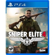 Foto Jogo Sniper Elite 4 PS4 Rebellion