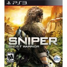 Foto Jogo Sniper Ghost Warrior PlayStation 3 City Interactive