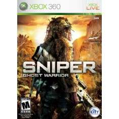 Foto Jogo Sniper: Ghost Warrior Xbox 360 505 Games