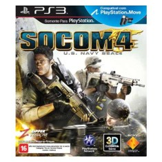 Foto Jogo Socom 4: U.S Navy Seals PlayStation 3 Sony