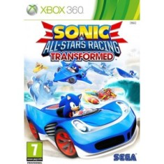 Foto Jogo Sonic & All Star Racing Transformed Xbox 360 Sega