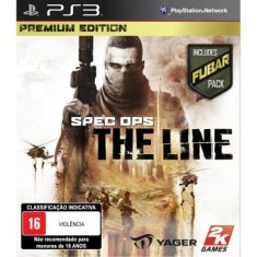 Foto Jogo Spec Ops The Line PlayStation 3 2K