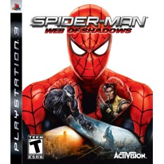 Foto Jogo Spider-man: Web of Shadows PlayStation 3 Activision