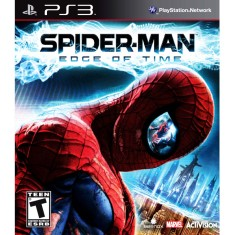 Foto Jogo Spiderman Edge of Time PlayStation 3 Activision