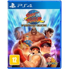 Foto Jogo Street Fighter 30th Anniversary Collection PS4 Capcom