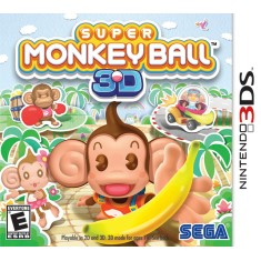 Foto Jogo Super Monkey Ball 3D Sega Nintendo 3DS
