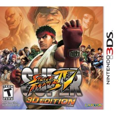 Foto Jogo Super Street Fighter IV 3D Edition Capcom Nintendo 3DS