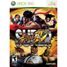 Foto Jogo Super Street Fighter IV Xbox 360 Capcom
