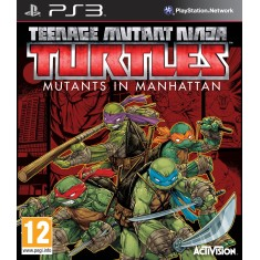 Foto Jogo Teenage Mutant Ninja Turtles: Mutants in Manhattan PlayStation 3 Activision
