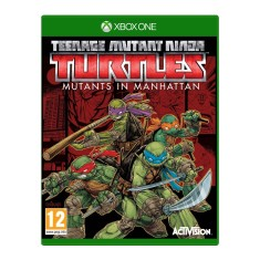 Foto Jogo Teenage Mutant Ninja Turtles Mutants in Manhattan Xbox One Activision