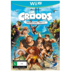 Foto Jogo The Croods: Prehistoric Party! Wii U D3 Publisher